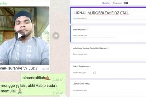 Setoran Online Tahfidz STAIL