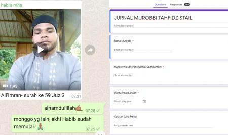 Jaga Spirit Hafalan Mahasiswa, STAIL Adakan Program Tahfidz On Line