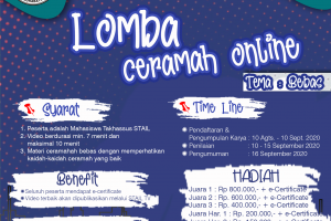 LOMBA CERAMAH ONLINE STAIL