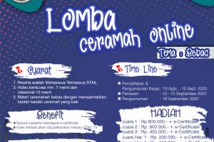 LOMBA CERAMAH ONLINE STAIL