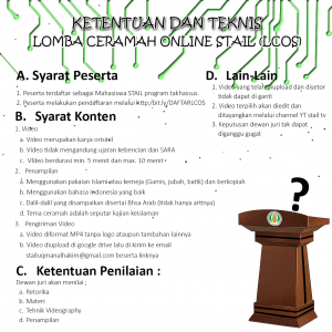 TEKNIS LOMBA LCOS