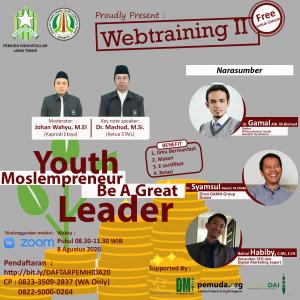 Poster Webtraining 2 STAIL dan Pemhida Jatim