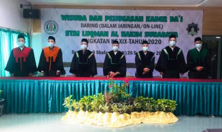 Pandemi Tak Halangi 43 Dai Sarjana STAIL Mengabdi ke Penjuru Negeri