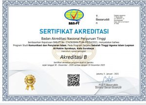 Akreditasi KPI STAIL