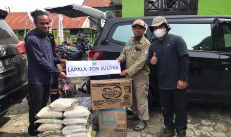 Bencana Sulbar, LAPALA STAIL Ikut Bantu Korban