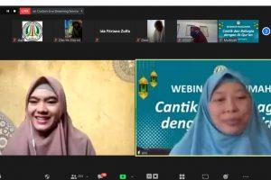Isi Webinar Muslimah: Ini Tips Menghafal dari Kak Nabila